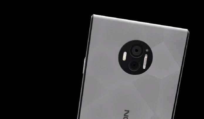 флагманском смартфоне Nokia