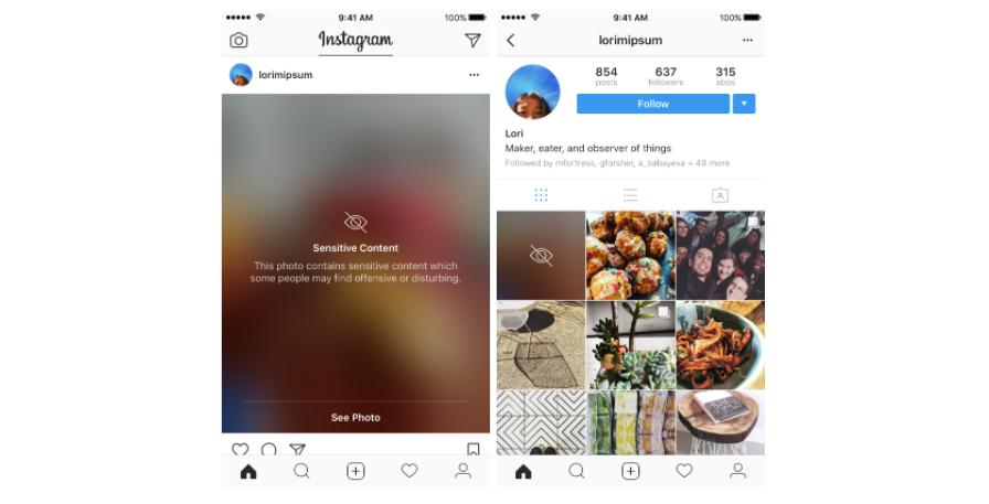 В Instagram изменили бескомпромиссное отношение к цензурности контента