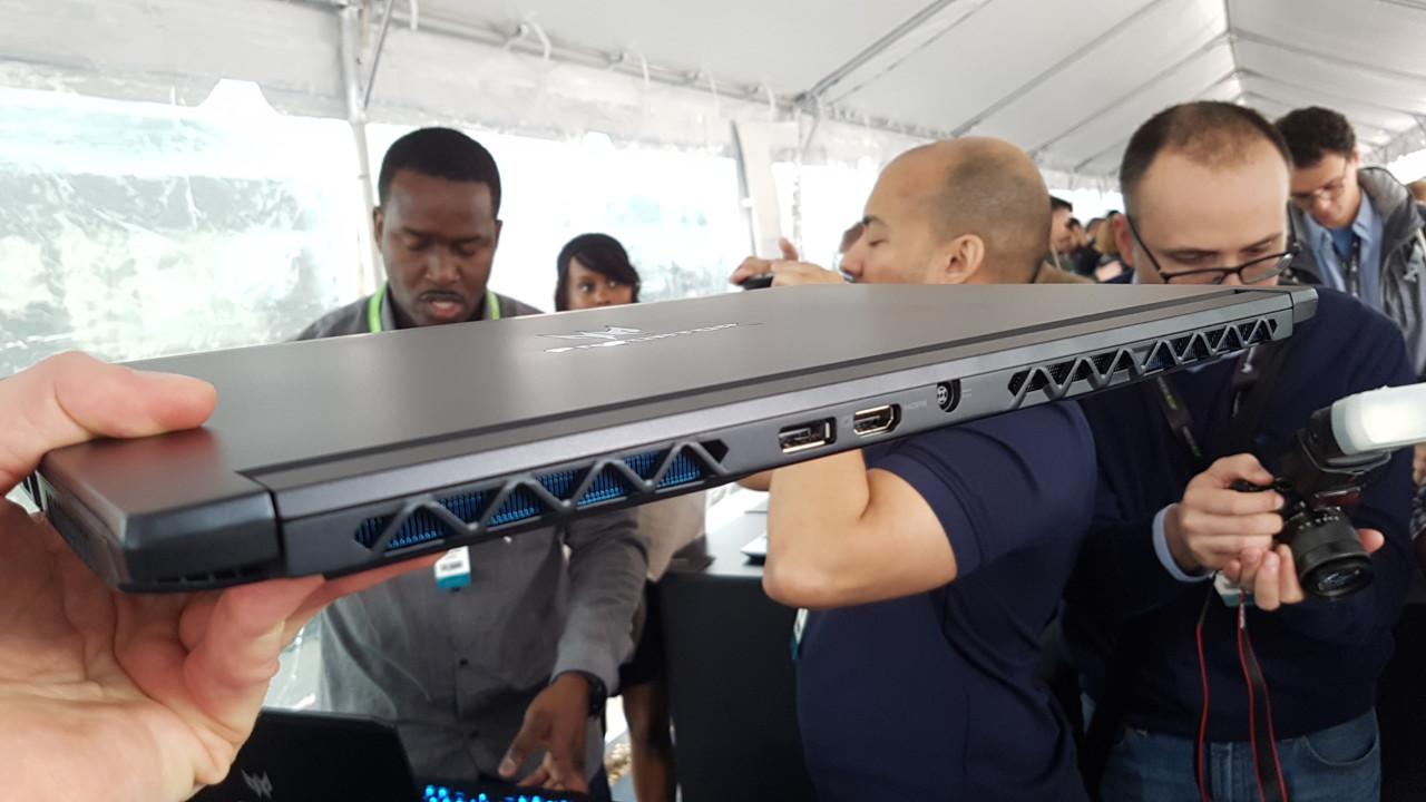 Новый ультатонкий геймерский ноутбук Acer Predator