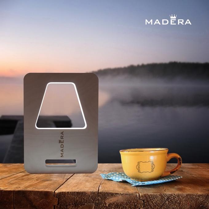 Madera 007 - hi-tech лампа с USB
