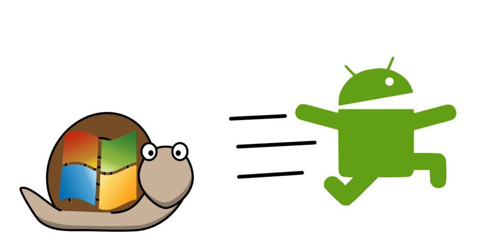 В марте Android стал самой популярной ОС