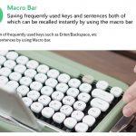 Bluetooth-клавиатура Penna в стиле старой печатной машники