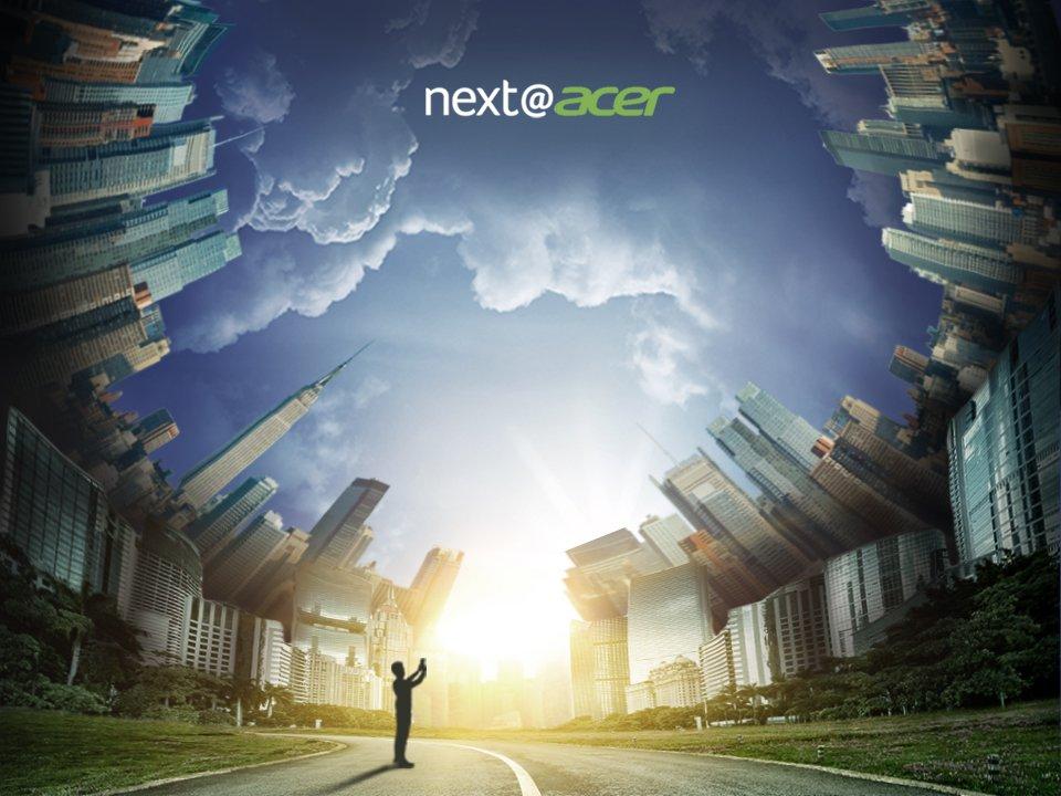 Онлайн-трансляция презентации Acer из Нью-Йорка