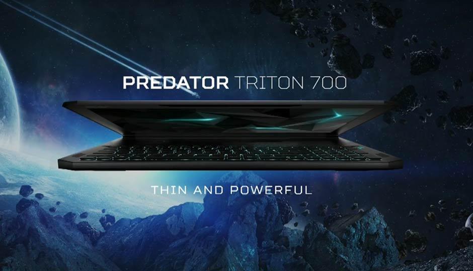 Новый ультатонкий геймерский ноутбук Acer