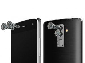 Alcatel удивил всех своей новинкой с двумя сдвоенными камерами