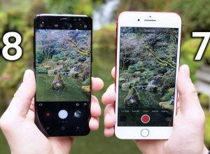 Чья камера лучше Galaxy S8 или iPhone 7+?