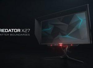 Новый игровой монитор Acer