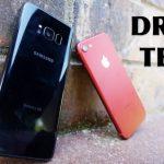 Дроп-тест: iPhone 7 против Galaxy S8