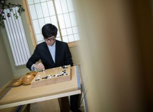 Первый матч AlphaGo против Кэ Цзи