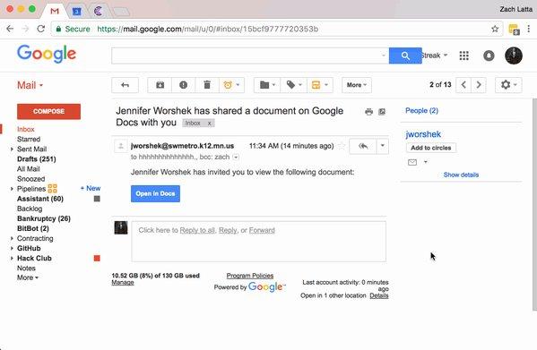 Злоумышленники использовали Google Docs для фишинговой атаки