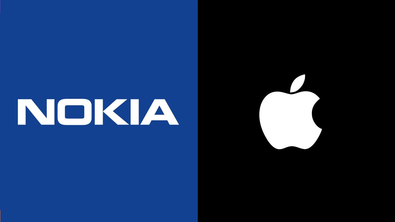 Nokia и Apple зарыли топор войны