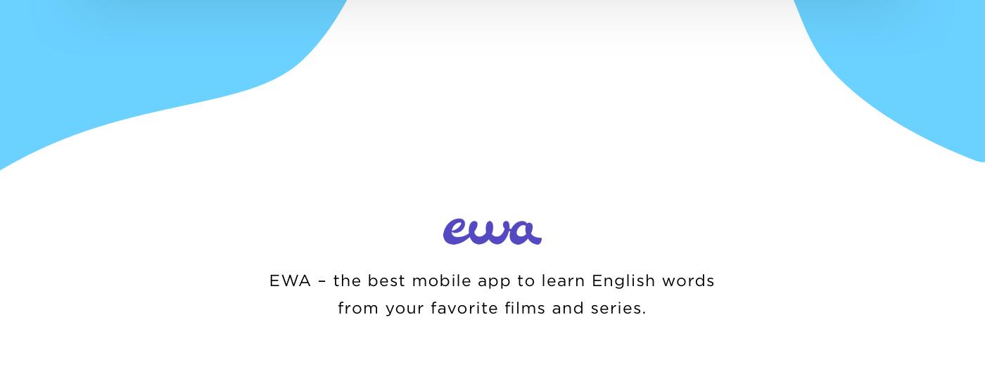 Изучение английских слов с EWA