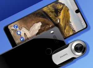 Смартфон Essential Phone получил миниатюрную сферическую камеру