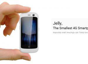 Jelly - самый компактный смартфон