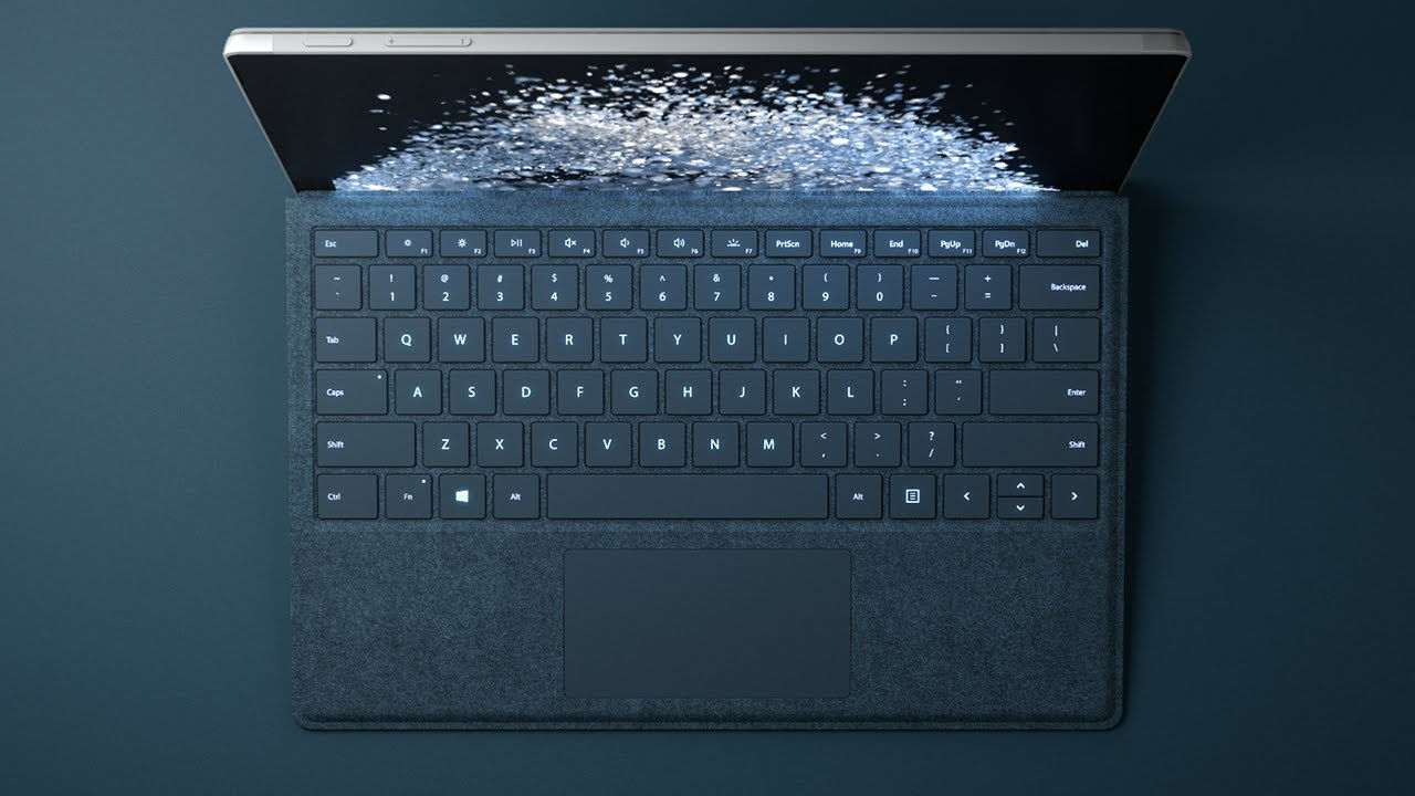 Новый планшет Microsoft Surface Pro 2017