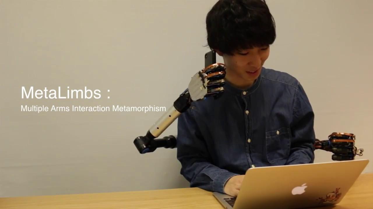 MetaLimbs: Multiple Arms Interaction Metamorphism (2017)
