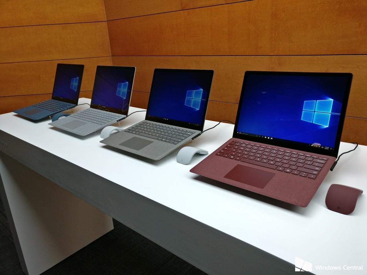 Сразу два обновления от Microsoft: новый Surface Laptop с новым Windows 10 S
