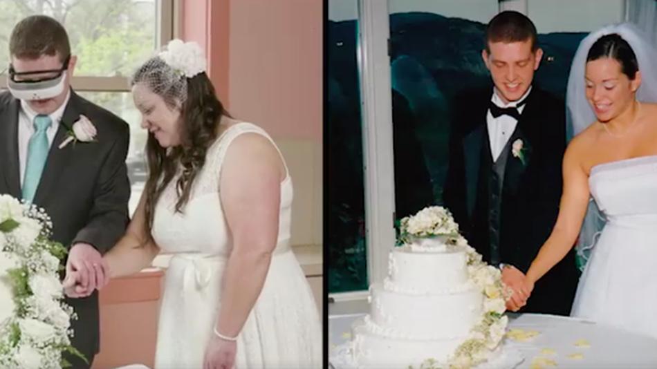 eSight 3 позволили мужу впервые за 15 лет рассмотреть лицо своей жены
