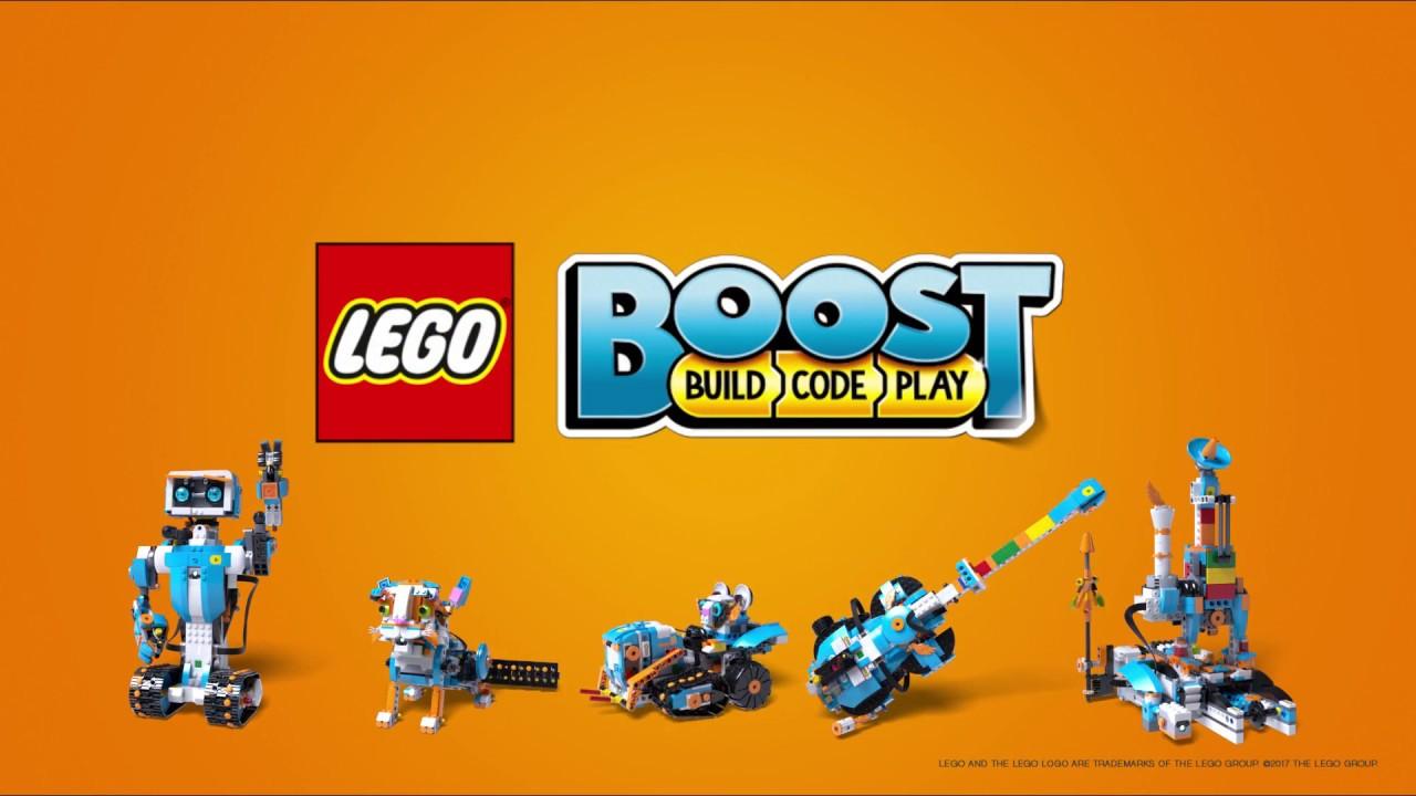 Lego Boost появится на прилавках в середине лета