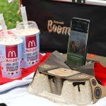 Бумбокс для смартфона из подстаканника из McDonald's