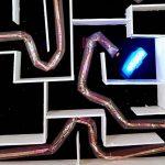 Надувной робот-змея от от стэнфордских ученых.