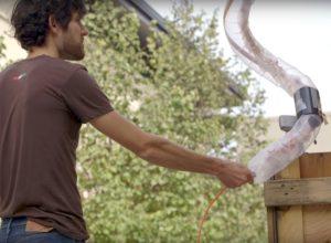 Надувной робот змея от от стэнфордских ученых.