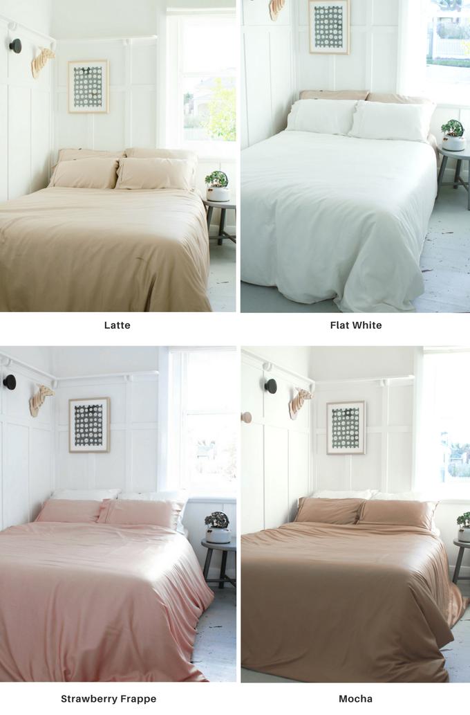 Bamboo Coffee Sheets - постель из кофейной гущи, которая сохраняет свою свежесть в два раза дольше