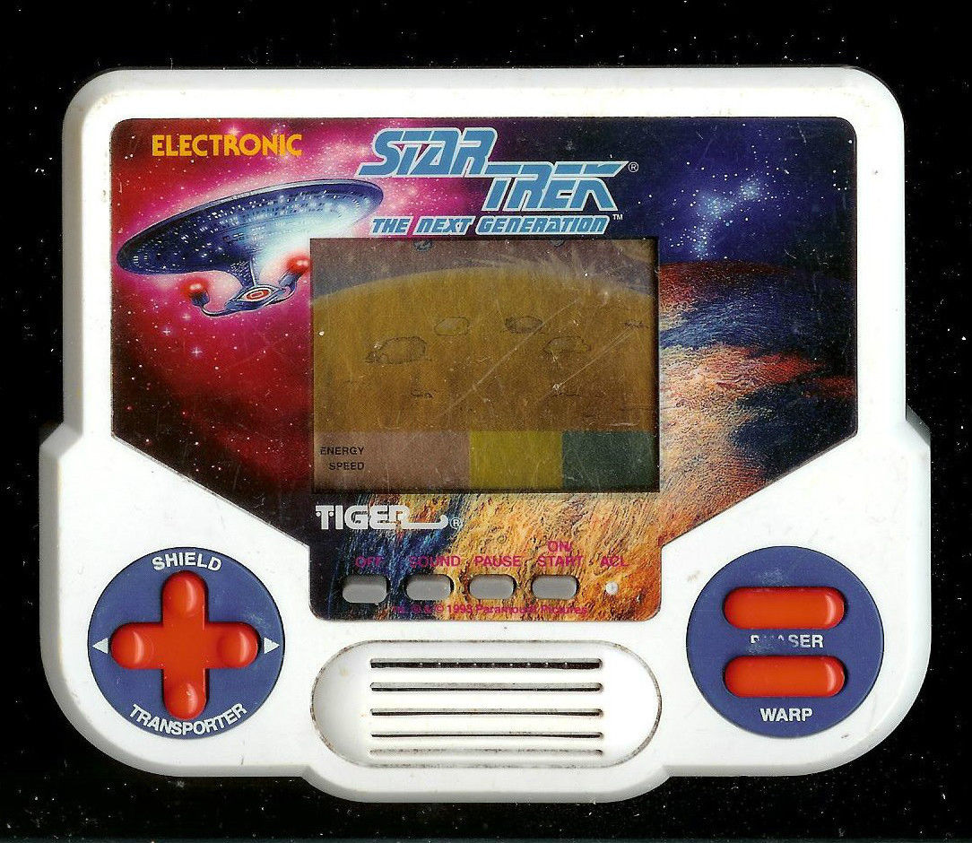 Tiger Electronic Handheld Games