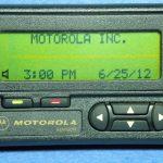 Первый в мире пейджер выпустила Motorola