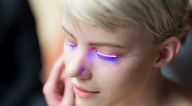 LED-ресницы f.lashes - будущее моды?