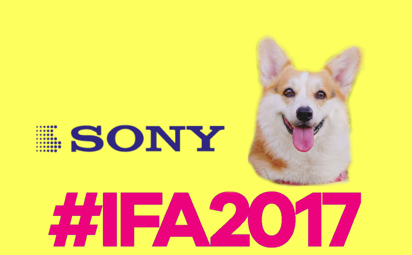 Новинки Sony на выставке IFA 2017