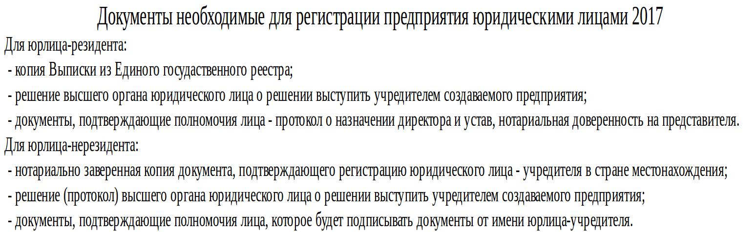 Какие документы нужны для открытия малого бизнеса в Украине