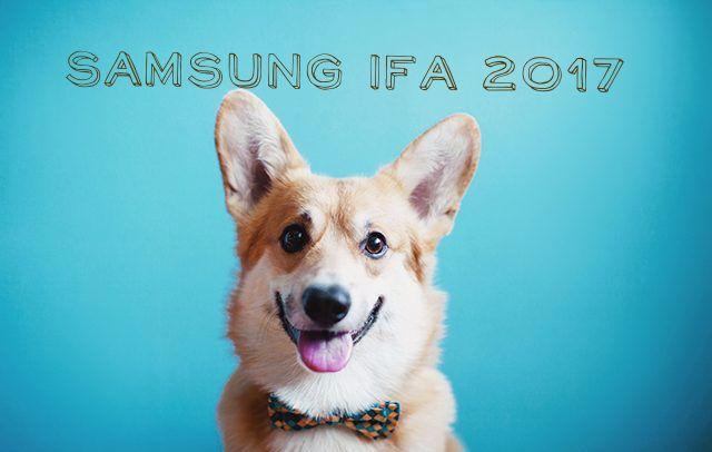 IFA 2017 новинки Samsung