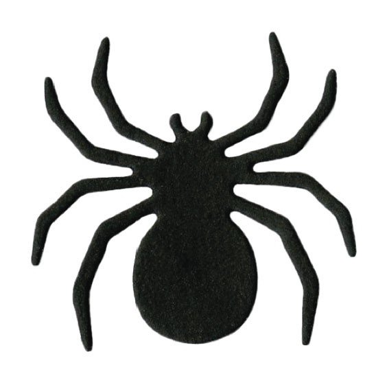шаблон паука для хэллоуина