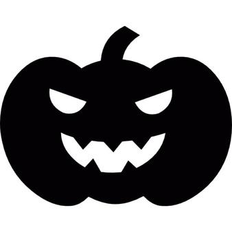 шаблон тыквы на хэллоуин
