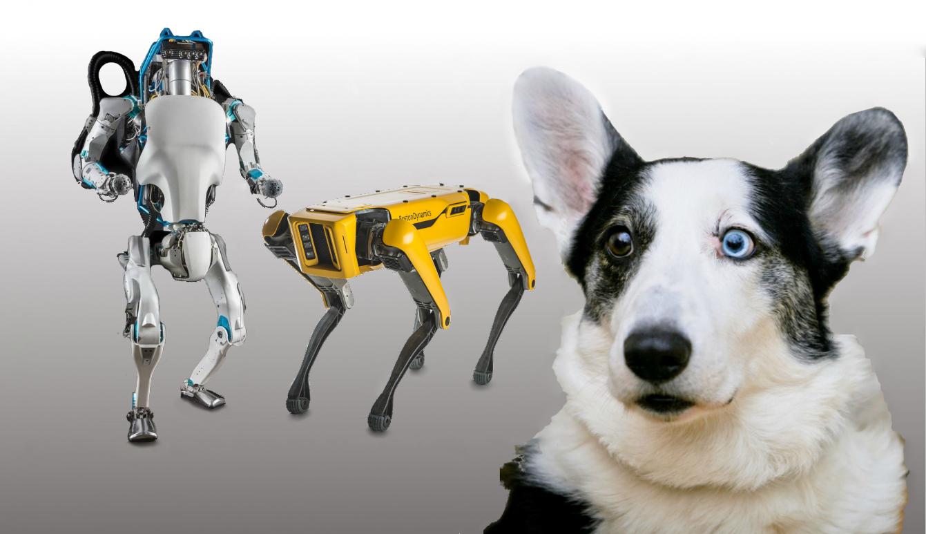 Новые роботы Boston Dynamics