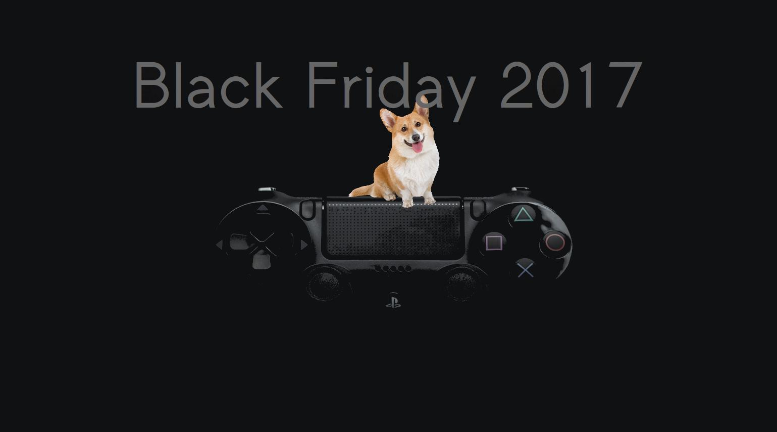 Черная Пятница 2017 Sony PlayStation 4