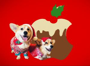 Новогодняя реклама iPhone X и AirPods