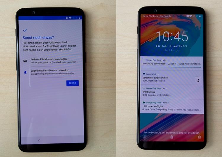 Новый OnePlus 5T не дождался 16 ноября