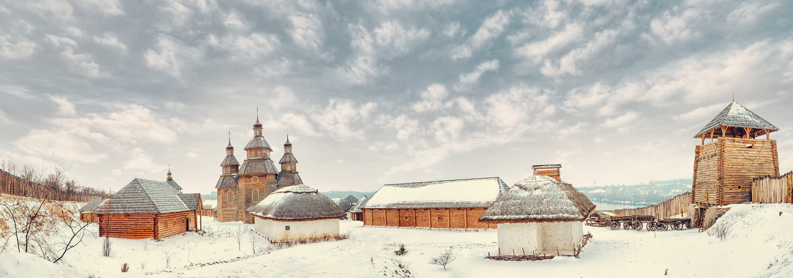Сказочные места для празднования Нового года 2018 в Украине