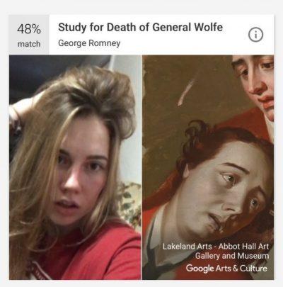 Google Arts and Culture селфи