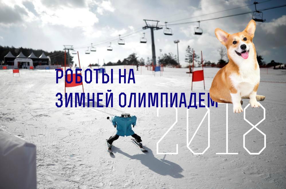 Роботы-лыжники выступили на Зимней Олимпиаде в Пхенчхане
