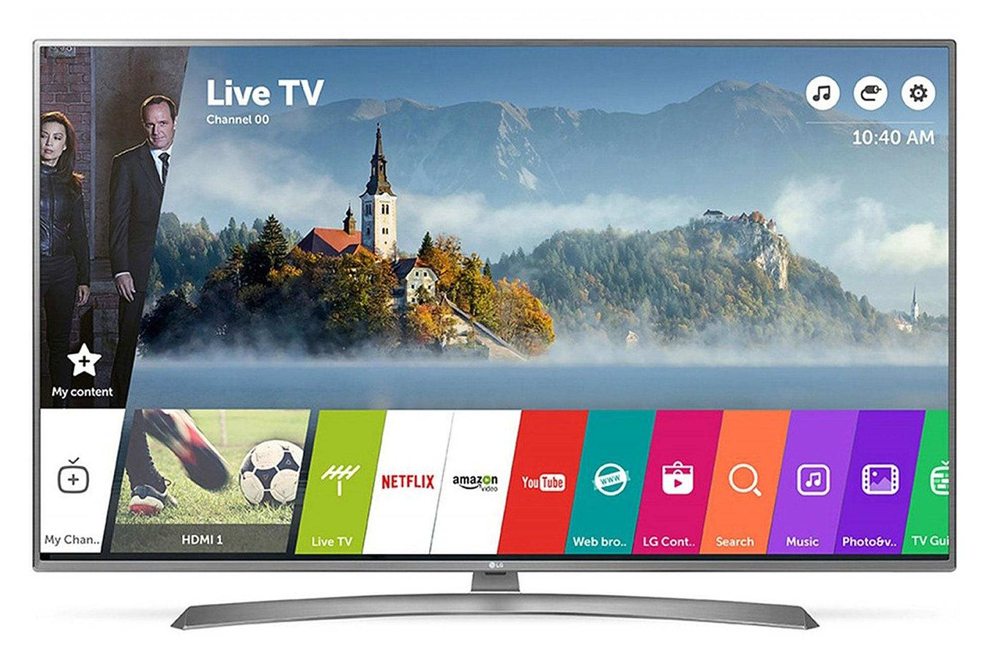 Популярный телевизоров со Смарт ТВ