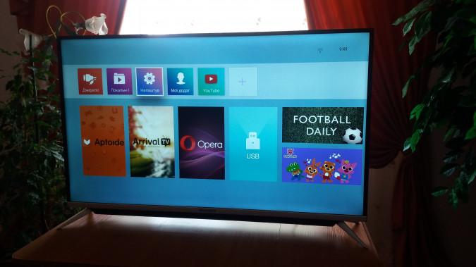 4К телевизоры с Android TV