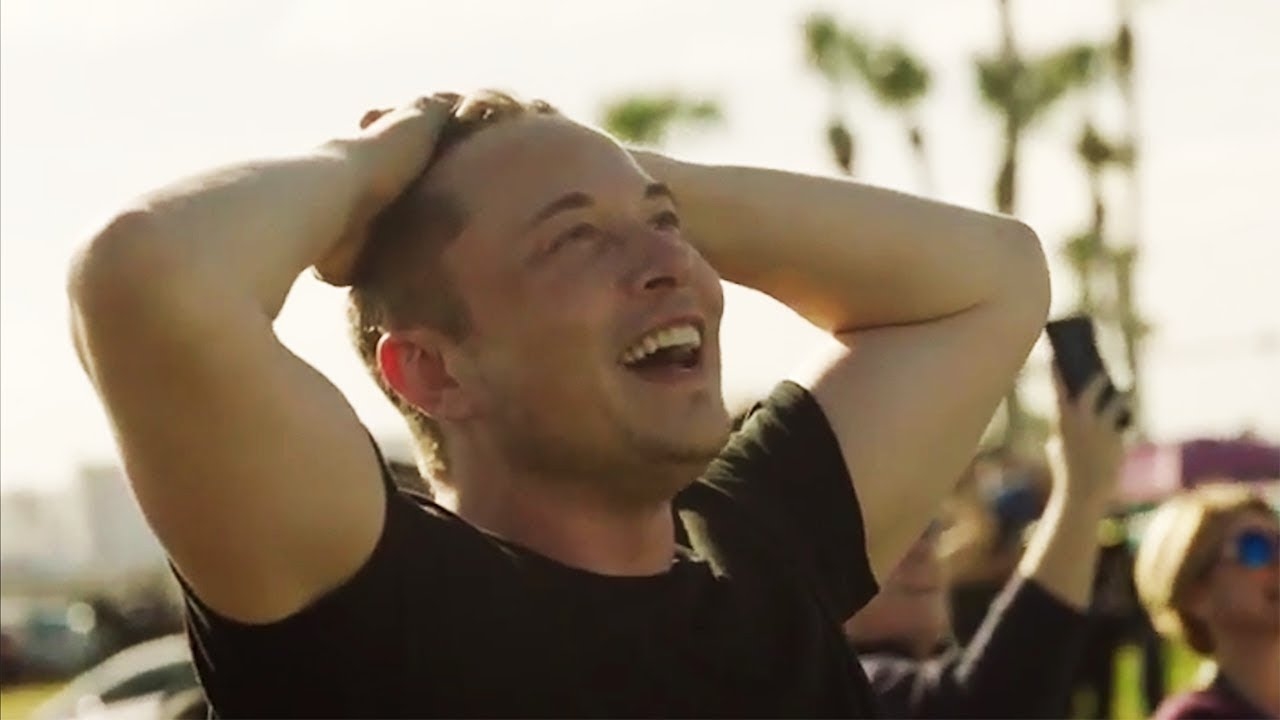 Как Илон Маск запустил Tesla в космос (Видео)
