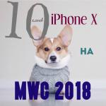 Клоны Phone X на MWC 2018