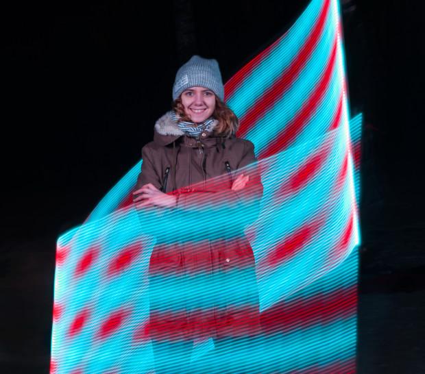 Украинский стартап LED-лампа для селфи