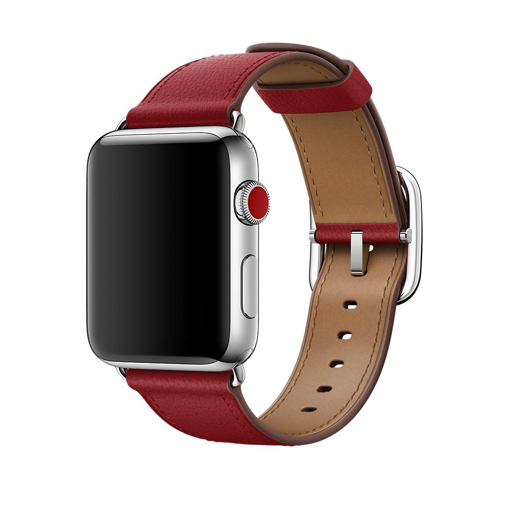 Классический ремешок для Apple Watch (Product) RED