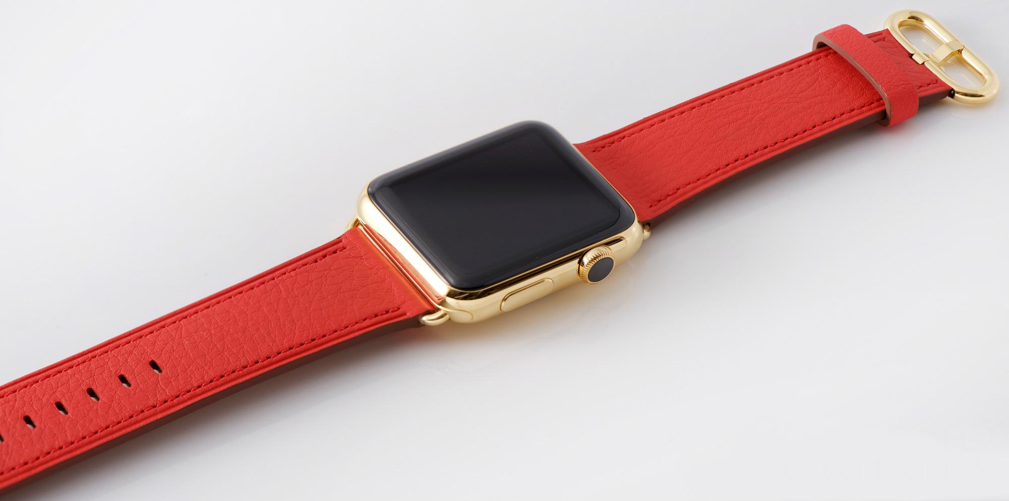 Классический ремешок для Apple Watch RED