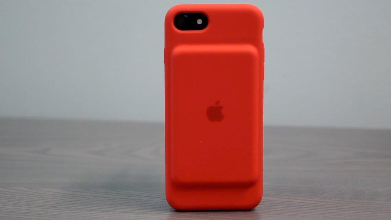 Smart Battery Case RED для iPhone